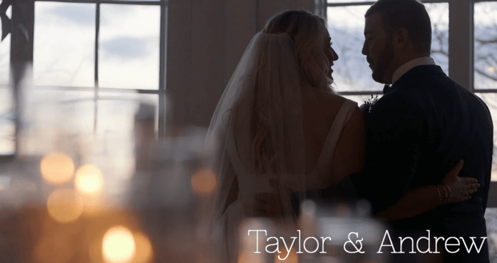 Taylor Andrew Tupper Manor winter wedding